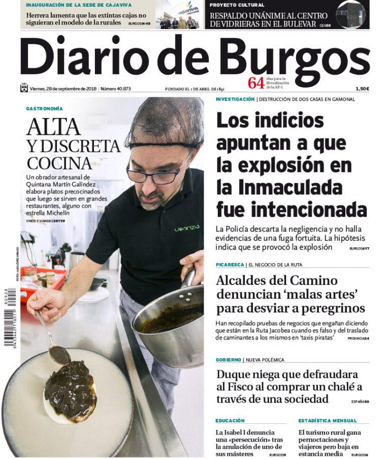 Portada-Diario-de-Burgos-18-09-2018